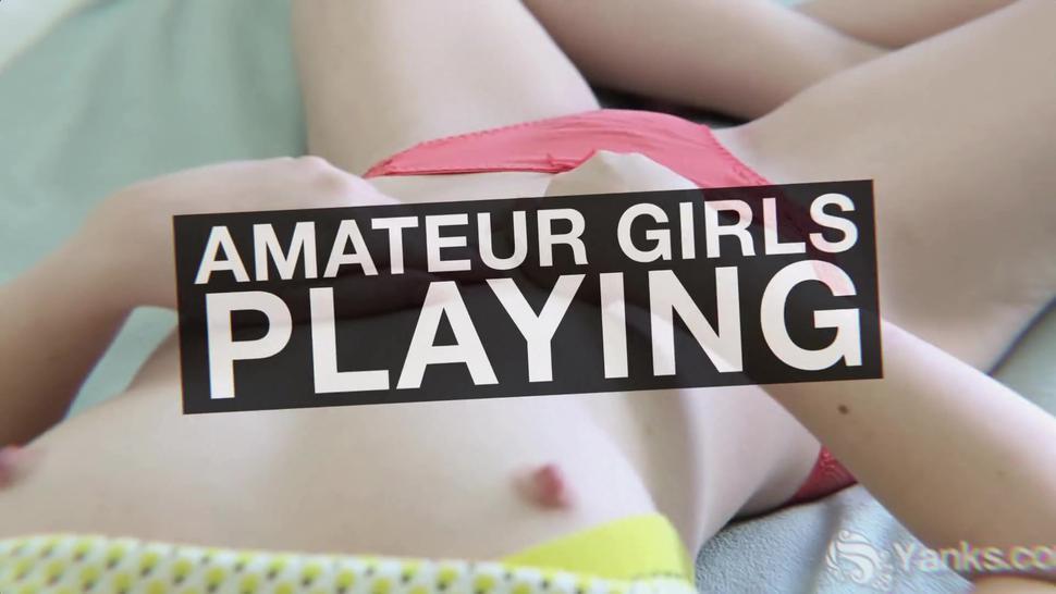 Yanks Lesbians Clementine And Vi Having Fun