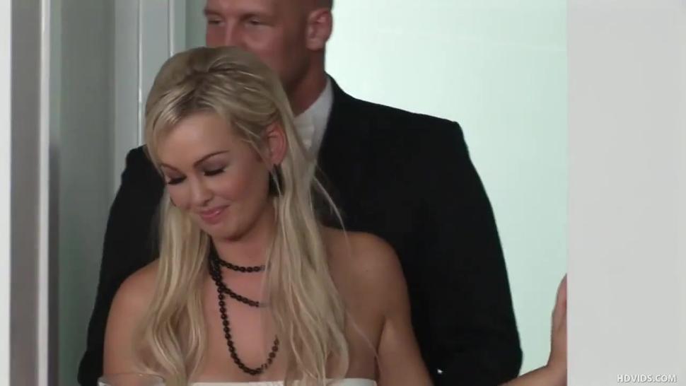 Abbey Brooks Wedding Day