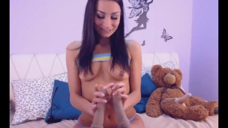 Gorgeous Girl Having A Hot Masturbation