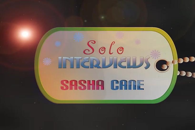 SoloInterviews Sasha Cane small tits brunette teen solo dildo masturbation  - Solo Interviews
