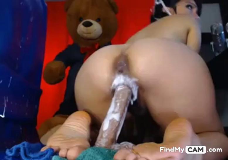 Sex toy on camera