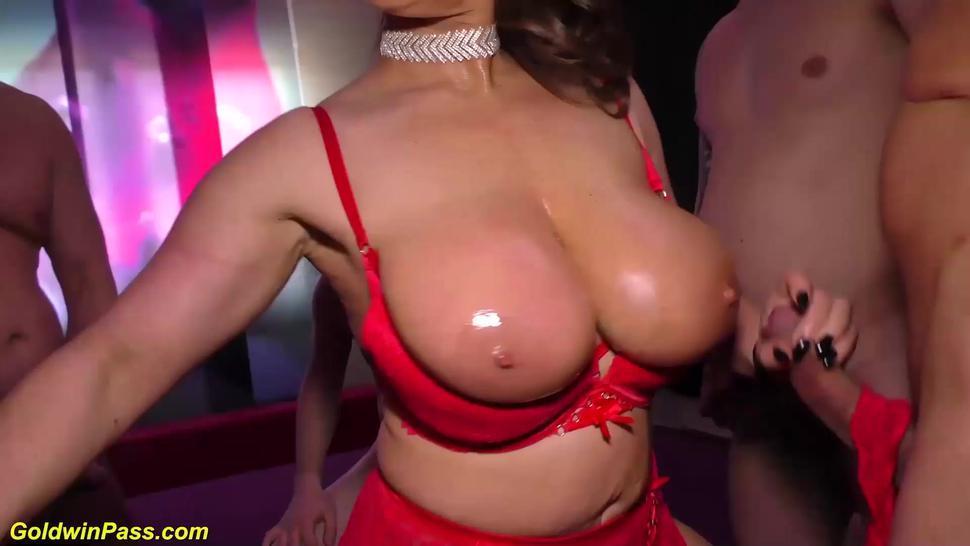 WILDGANGBANGS - rough big cock anal gangbang for sexy susi
