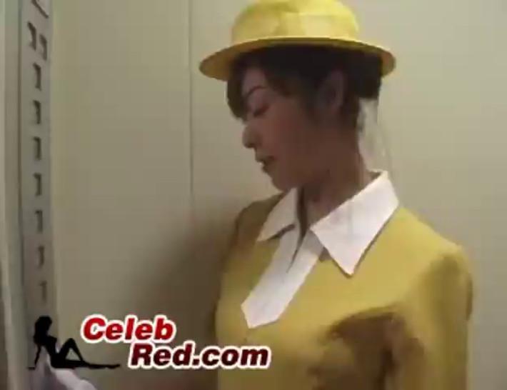 Handjob In Elevator handjob