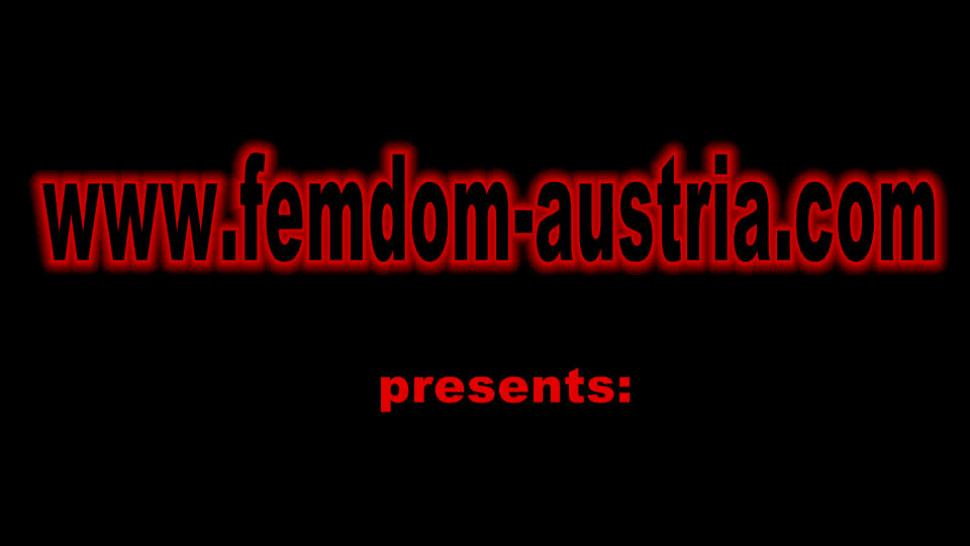 FEMDOM AUSTRIA - Femdom ladies educate slaves to petplay