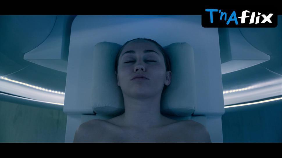 Miley Cyrus Sexy Scene  in Black Mirror