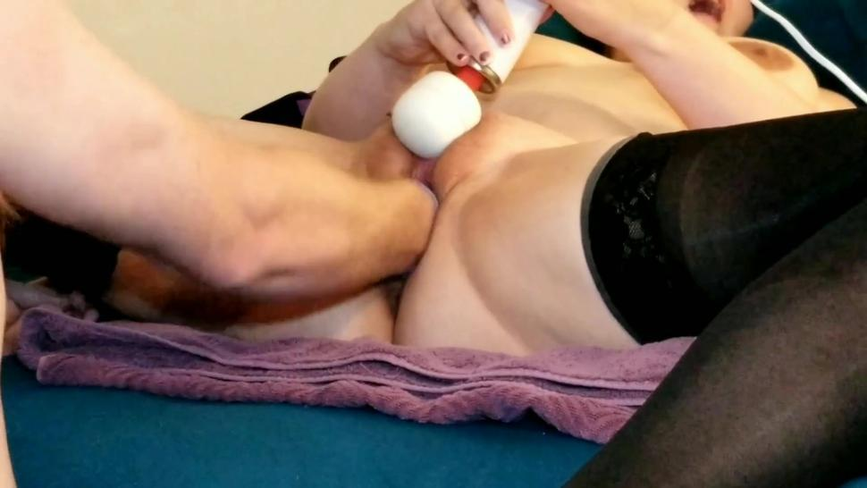 Wife's first fisting full video available $$