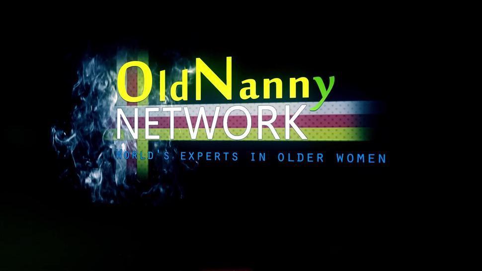 OldNannY Big Natural Tits In Mature Lesbian Video