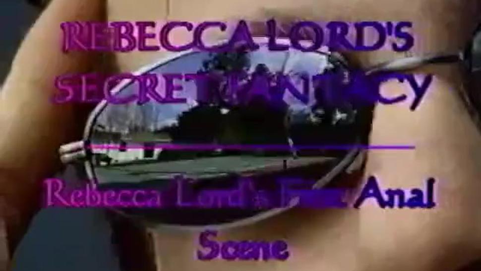 Rebecca Lord - First Anal Scene