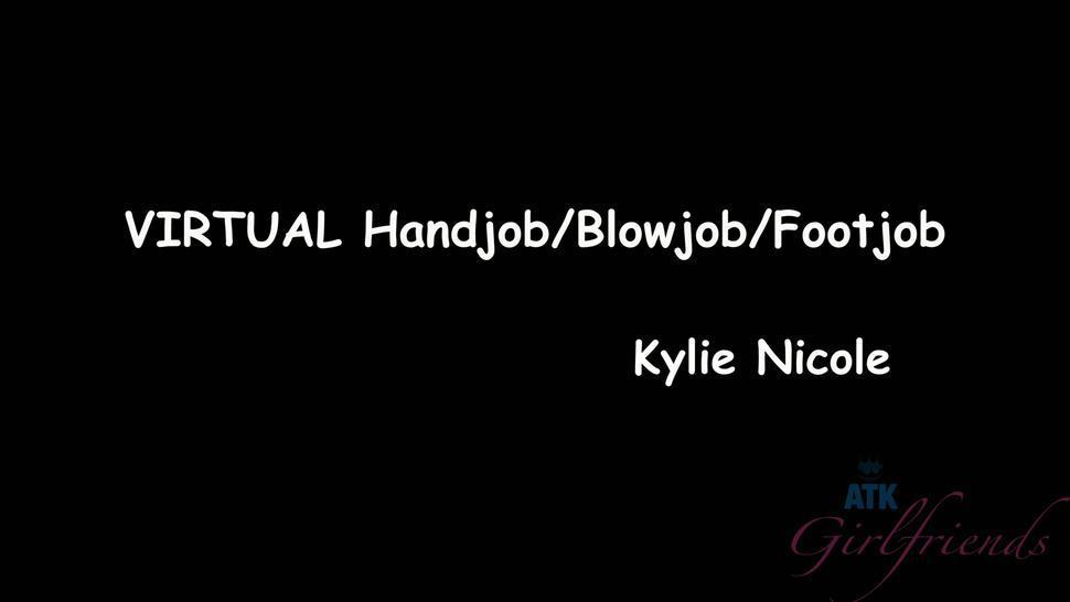 Petite Babe Rubs Dick - Kaylee Haze