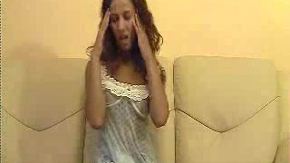 Tasty Girl Strip Dance On Webcam