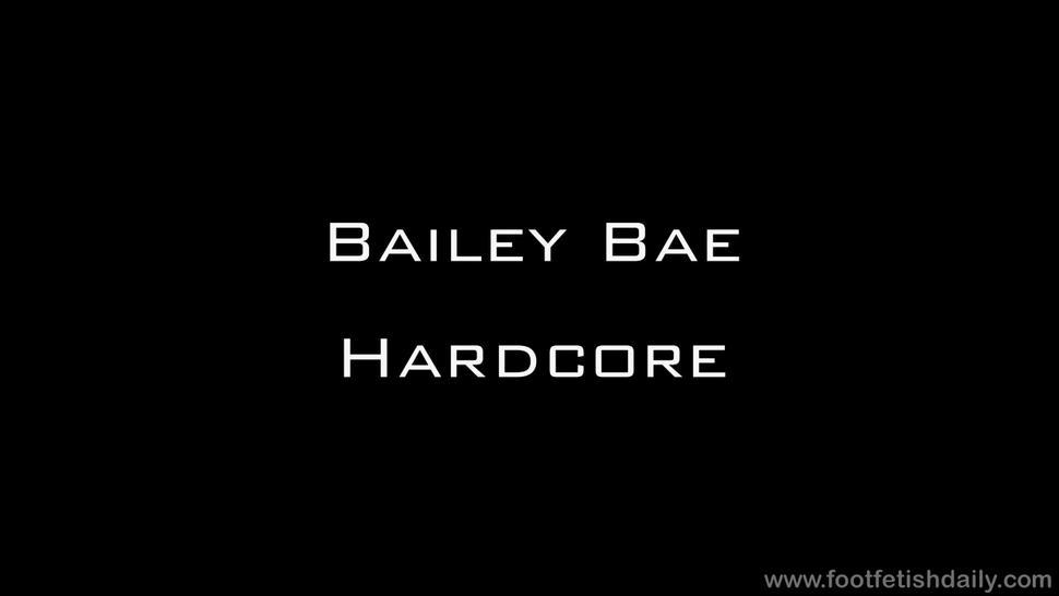 Footsie Girl Gets Rammed Hard - Bailey Bae