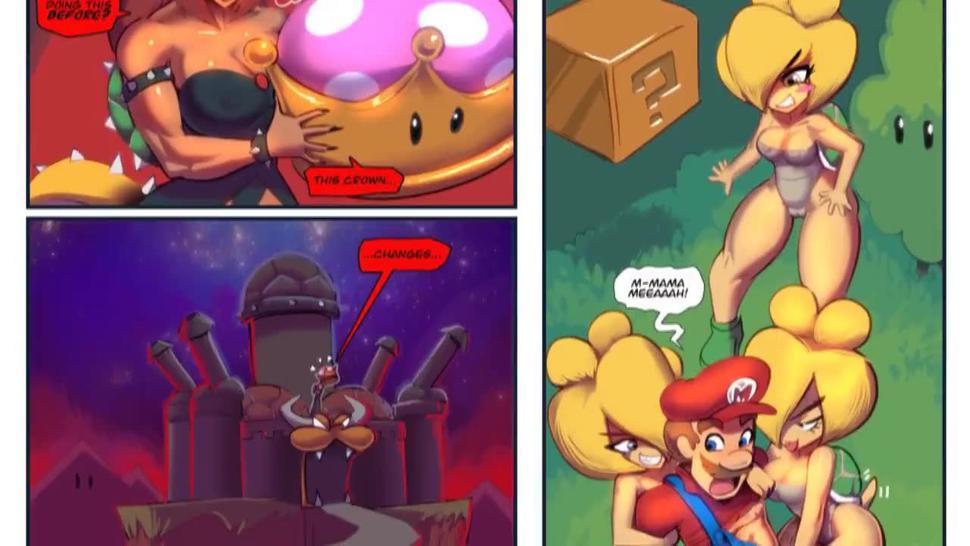 BOWSETTE BONDAGE BASTILLE [BSDM DUNGEON] : Welcoming Mario