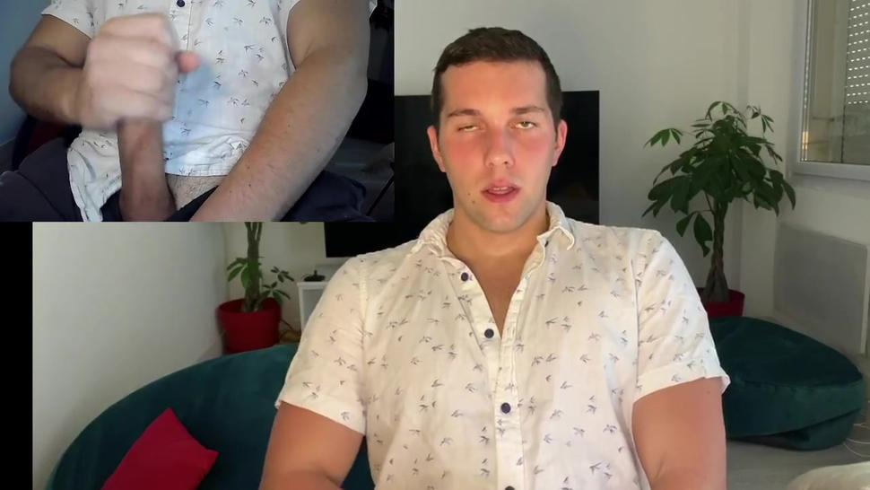 Double cam edging and dirty talk french and english (big cumshot)