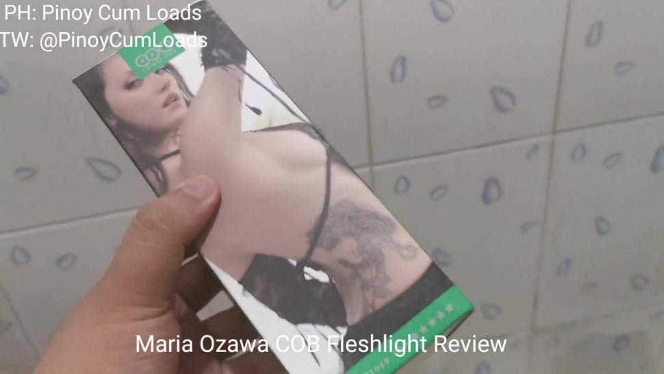 Trying Out An Oral Fleshlight For The First Time! (Maria Ozawa COB Review)
