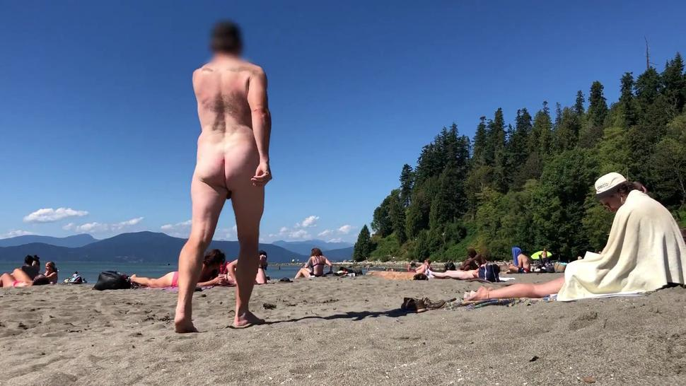 Tiny Cock On Nude Beach - Part 3 - His Balls Are Bigger Than His Penis! Lol Sph Cfnm