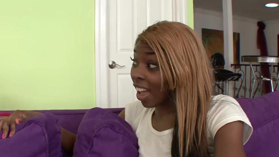 Ebony sis at it again