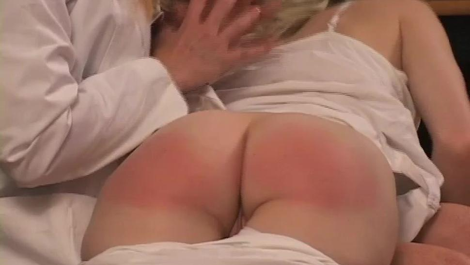 the clinic approach by shadowlane spanking--part 2 over-the-knee-lubrication