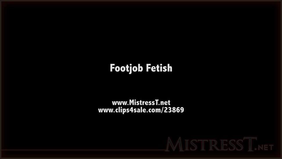 MistressT - Footjob Fetish