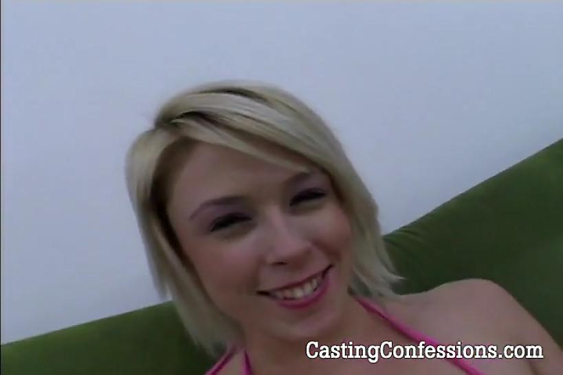 CASTING CONFESSIONS - 20 yo Brittney Angel Is Cast For Sex Video