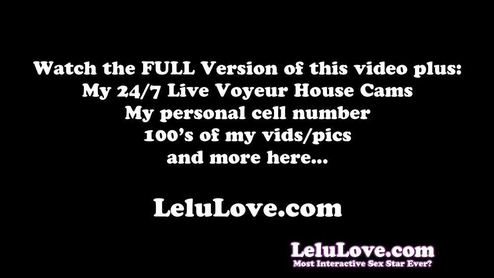 You Cannot Resist Cheating With Me And Filling Me Fertile Pussy With Your Creampie - Lelu Love