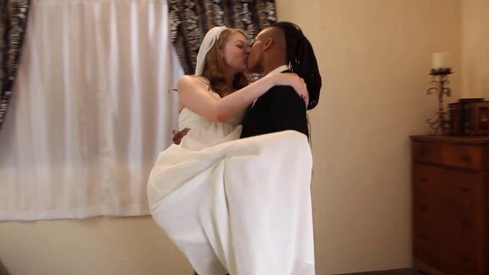 kinky lesbian honeymoon after wedding