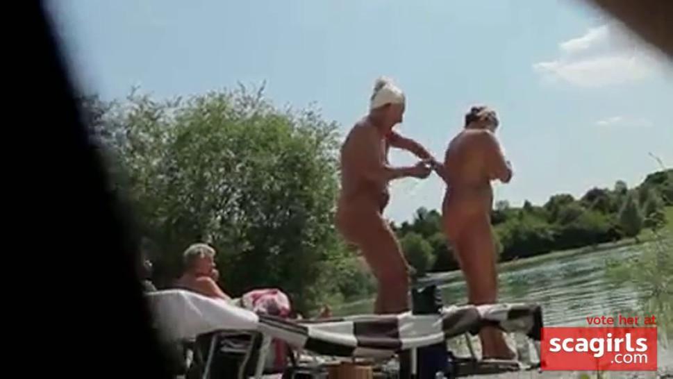 Nude Beach Voyeur - video 2