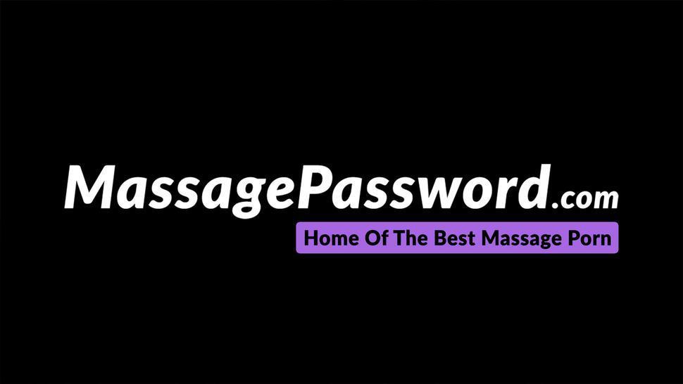 MASSAGE PASSWORD - Sensual blonde babe Khloe Kapri blows cock and hard fucks