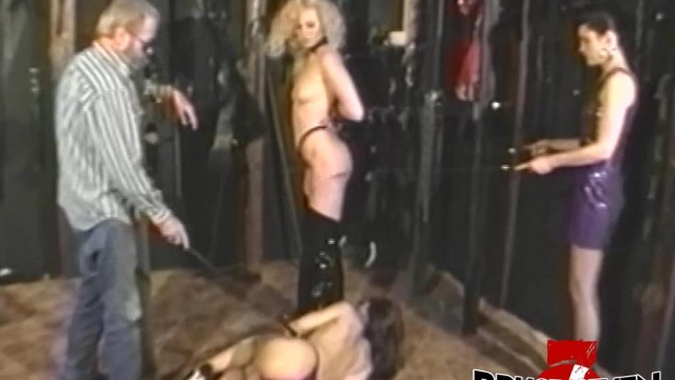 BRUCE SEVEN FILMS - BRUCE SEVEN - Three Lesbian Babes Playing With Wips Chains And Swings