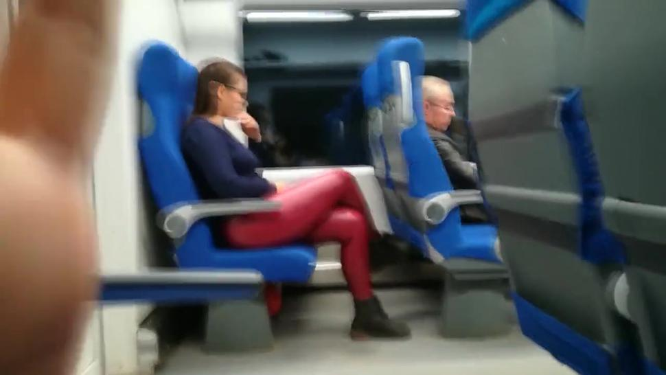 Public Voyeur Stranger Girl Sucked My Hard Dick In Train
