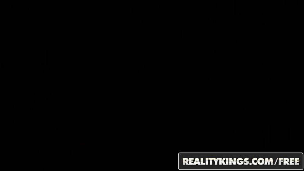 REALITY KINGS - Black GFs - Busty black girl Tori Taylor wants some white cock