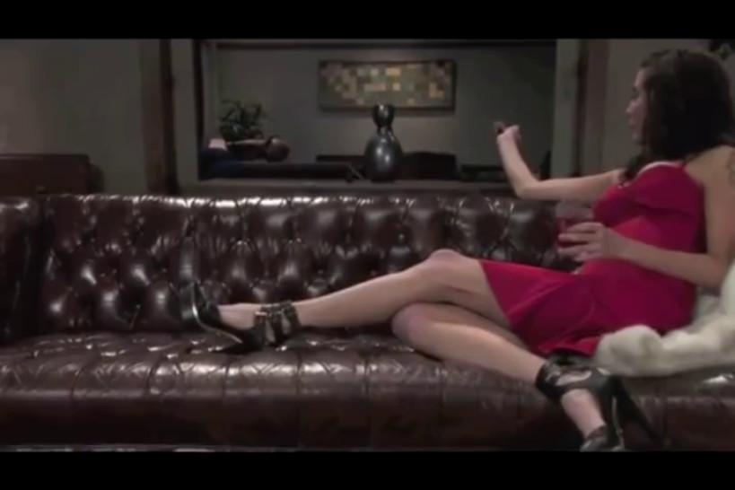 Lesbian mistress strapon maid