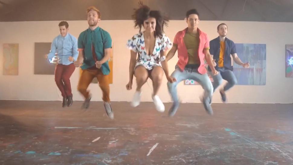 Nina Dobrev - SHAWN MENDES - Particular Taste Kyle Hanagami Choreography - Celeb Pussy Slip!!!!!
