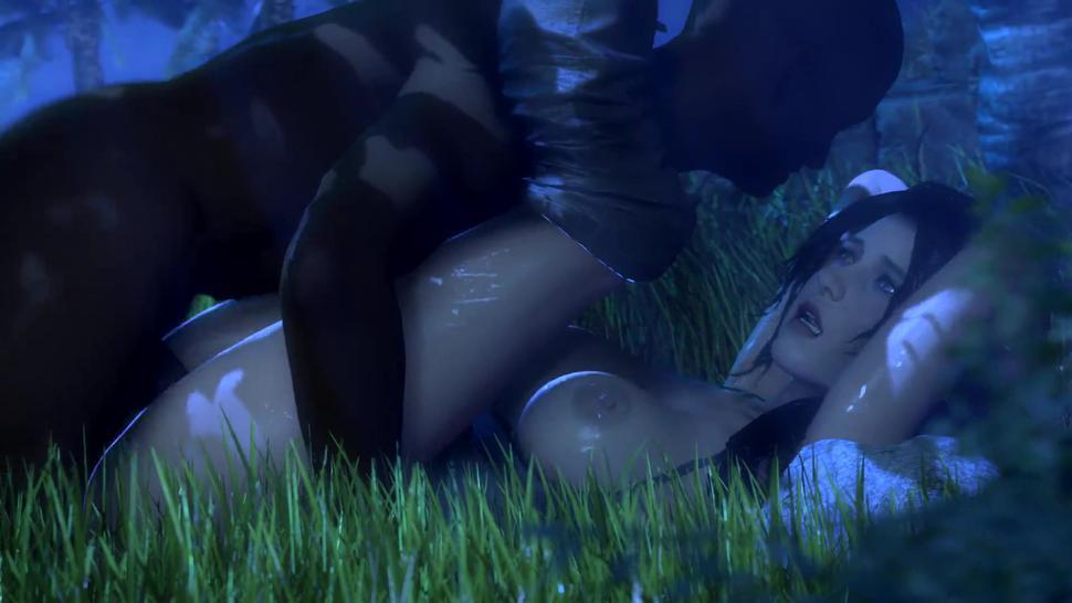 Black Deep Rough Sex Of Lara Croft Tomb Raider 3D Animation [10 Min + Full Hd]