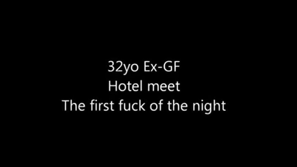 British amateur sucking and fucking in a motel room