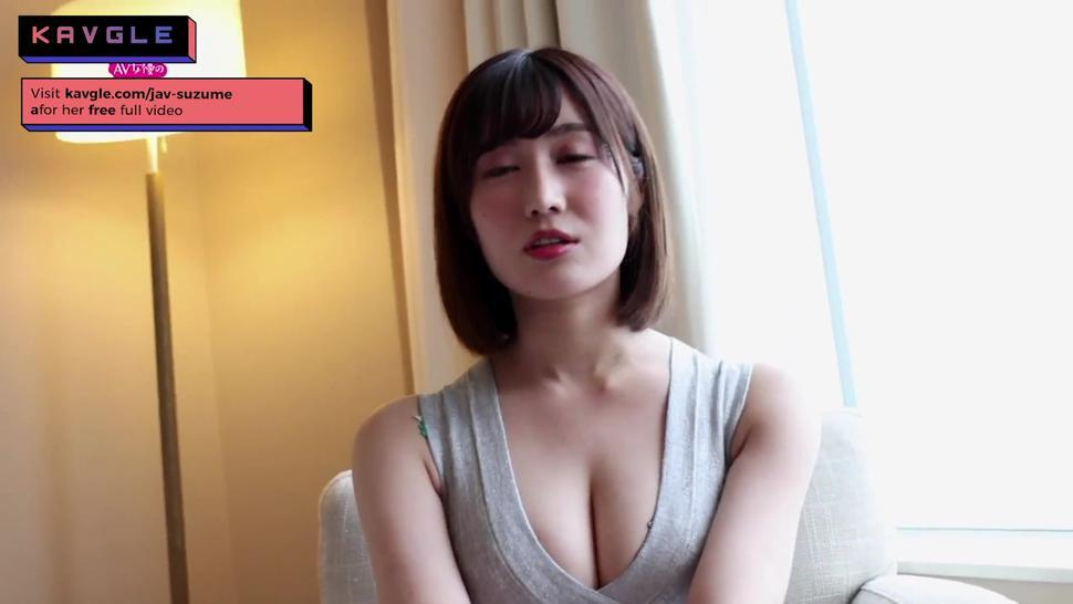 HOT SEXY shy JAV japanese gf first interview sex video