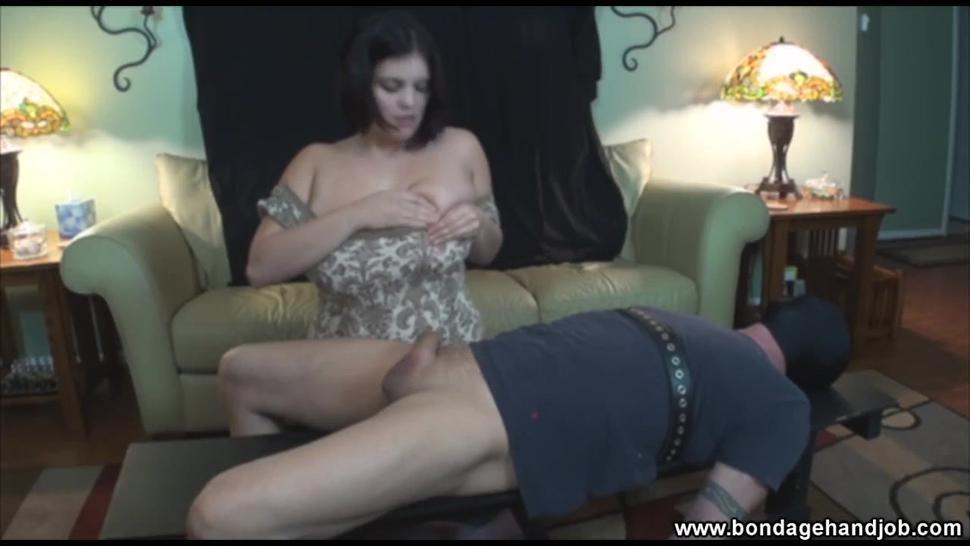 Huge Natural Breasts Bdsm Handjob