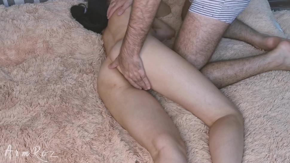 Beautiful sex of a young couple