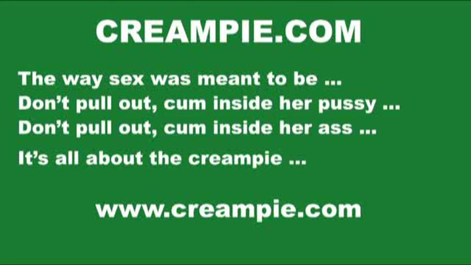 Casey Cumz Creampie