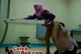 Arab Hijab Fucked At Her Gynecologist Arab
