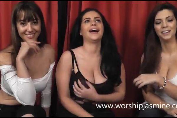 Triple Girl Small Penis Humiliation Sph Femdom Tnaflix Porn Videos