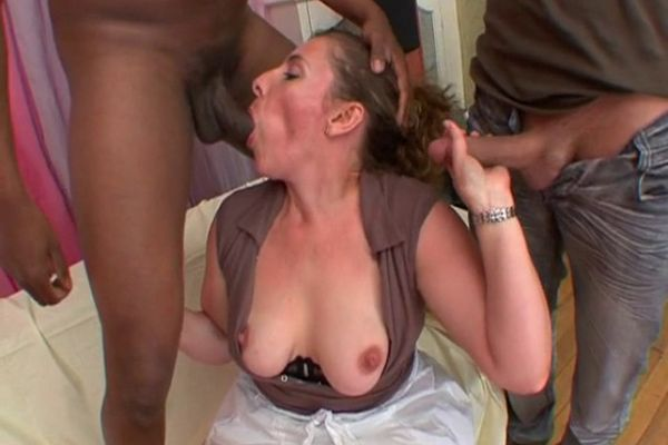 French mom gangbang
