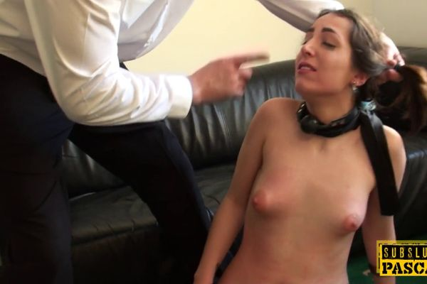Real british sub smeared with food and fucked 8