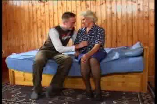 Busty German Granny Fucks Young Guy Tnaflix Porn Videos