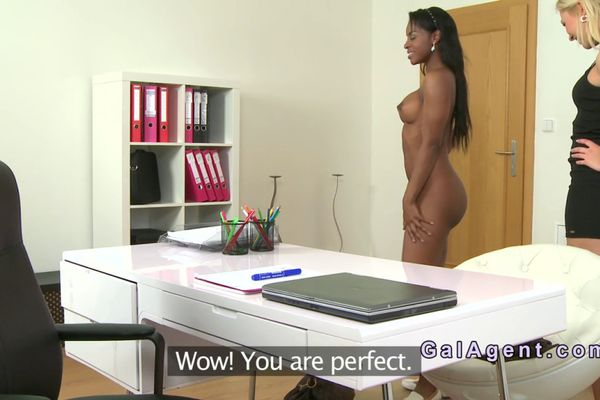 Casting euro doggystyled until a creampie 5