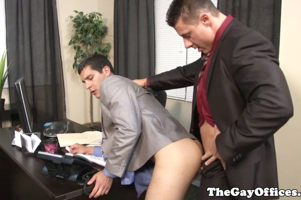 Office gay cock anal images