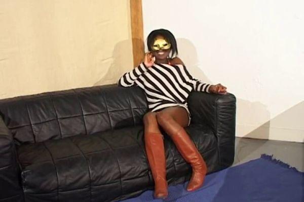 black girl anal pain