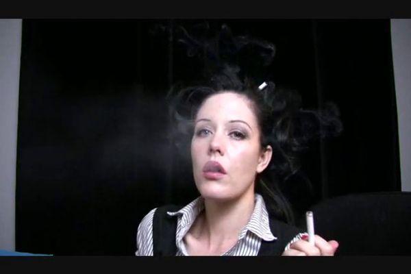 Smoking Fetish porno vids Ebony neuken grote zwarte lul