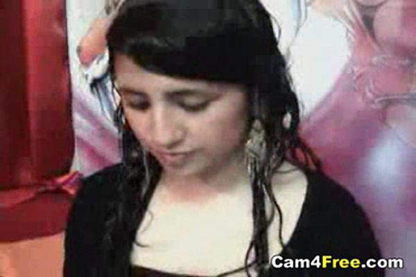 Hot Persian Chick Getting Naked On Webcam Tnaflix Porn Videos