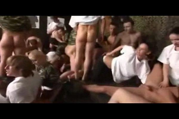 Army orgy