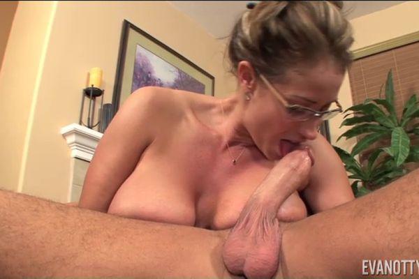 Cum Her first